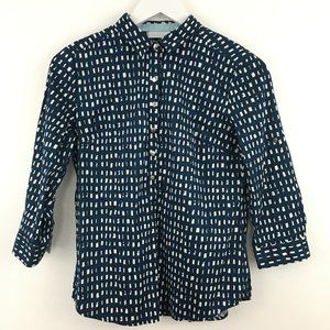 3/$22 New York & Company Button Down Blouse